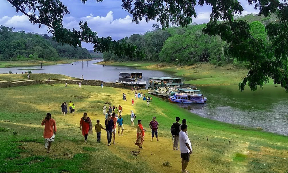 Kurangani,Thekkady,Thekkady LakeTucked in the heart of the jungle, Thekkady or Periyar Lake is famous for its wide varieties of wildlife. You can also take a boat ride in the reservoir that provides w-RENGHA HOLIDAYS